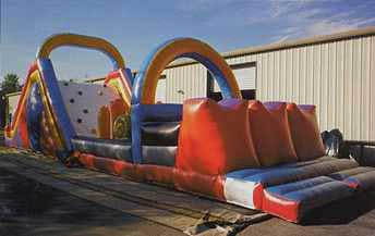 Inflatable Obstacle Cource: Junction Entertainment